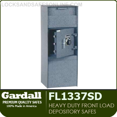 Heavy Duty Front Load Depository Safes Gardall Fl1337sd