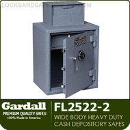 Wide Body Heavy Duty Cash Depository Safes | Cash Register Tray | Gardall FL2522 Series
