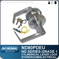 heavy duty corridor lever locks schlage nd73pd rh locksandsafesonline com