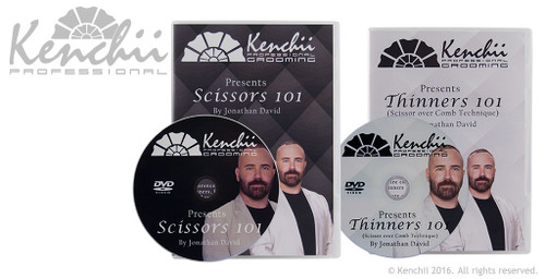 Jonathan David Scissors 101 and Thinners 101 2-disc DVD set