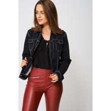 Modern Outfitters   Denim Jacket Lightning Black