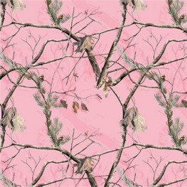 AP Realtree® Pink Camouflage Scrapbook Paper