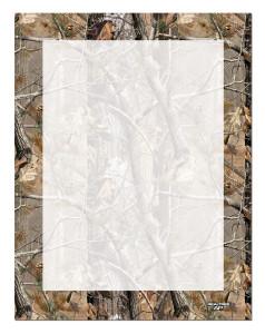 Letterhead AP® Camo Realtree