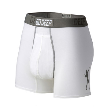 Angled front view of Go Deep Men's Dual Climate underwear