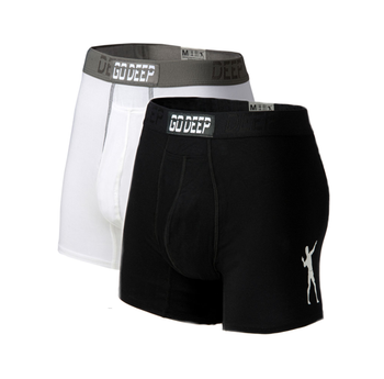 Double Pack set of Dual-Climate™ Underwear Boxers 2FBLKXWGRY