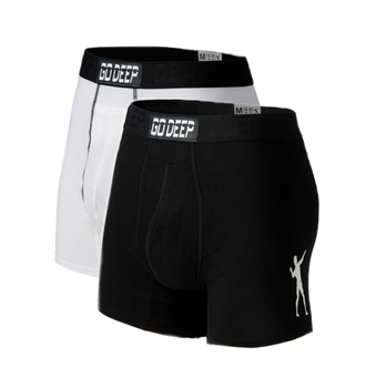 Double Pack set of Dual-Climate™ Underwear Boxers 2BLKXWHTB