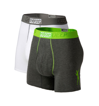 Double Pack set of Dual-Climate™ Underwear Boxers 2GRYXWG