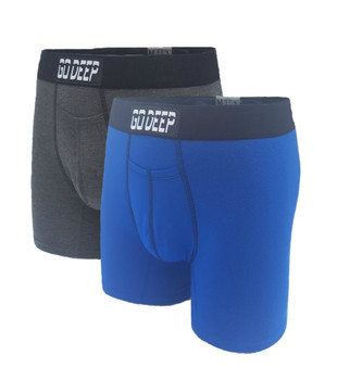 Double Pack set of Dual-Climate™ Underwear Boxers 2ROYBXGRAYBLK