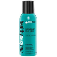 Healthy Sexy Hair Soya Want Flat Hair Hot Iron Spray 4.5oz