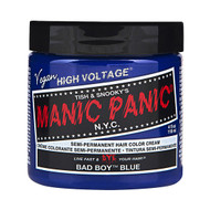 Manic Panic High Voltage Classic Cream Hair Color Bad Boy Blue