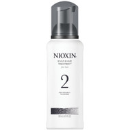nioxin system 2 scalp treatment 6.76 oz for noticeably thinning, non-color treated, fine hair