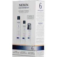 nioxin hair system 6 kit noticeably thinning for medium to coarse hair