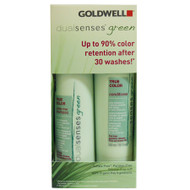 goldwell dual senses green true color shampoo & conditioner 10 oz