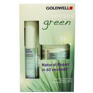goldwell dual senses green pure repair sulfate-free shampoo & treatment 10 oz