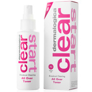 dermalogica clear start breakout clearing all over toner 4 oz