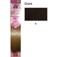 "hair couture clip&go 14"" 6pc hair extensions 4"