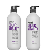 KMS COLORVITALITY Shampoo and Conditioner Duo 25.3oz