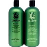 Zerran Botanum Shampoo & Equalizer Conditioner