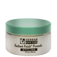 zerran radiant finish pomade 3 oz