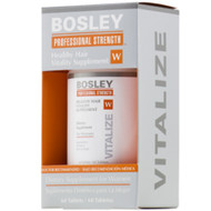 bosley healthy hair vitality supplement women