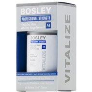 bosley healthy hair vitality supplement men