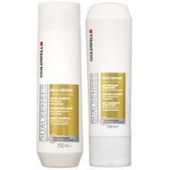 goldwell dual senses rich repair shampoo & conditioner duo 10 oz