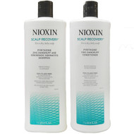 nioxin scalp recovery shampoo & conditioner duo 33 oz
