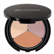 glominerals eye shadow trio sweet and spicy
