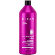 redken color extend magnetics conditioner for color treated hair using amino-ions to seal color in hair color.