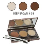 sorme brow style deep brown 58