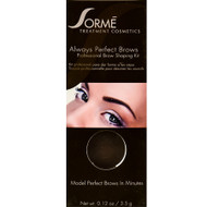sorme always perfect brows soft smoke 38
