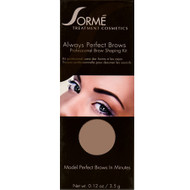 sorme always perfect brows walnut 37