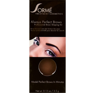 sorme always perfect brows dark brown 54