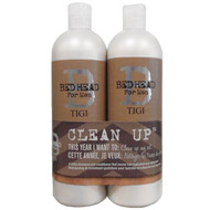 Bed Head For Men Clean Up Daily Shampoo And Peppermint Conditioner Set