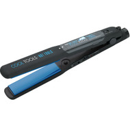 "hot tools 1 ¼"" conditioning vapor flat iron"