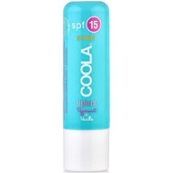 coola liplux organic lip balm spf 15 peppermint vanilla 0.15 oz