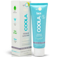 coola unscented mineral sunscreen with matte tint spf 30 1 oz