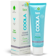 coola cucumber mineral sunscreen with matte tint spf 30 1 oz