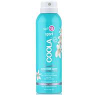 coola sport unscented sunscreen spray spf 15 6 oz