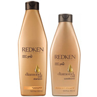 redken diamond oil shampoo and conditioner duo