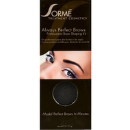 sorme always perfect brows medium brown 55