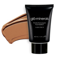 glominerals protective liquid foundation matte honey