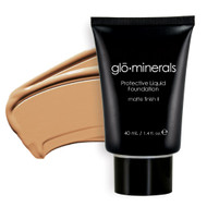 glominerals protective liquid foundation matte golden
