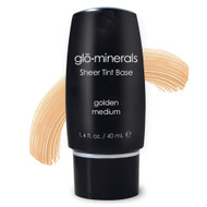 glominerals sheer tint base golden medium