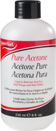 super nail pure acetone 16 oz