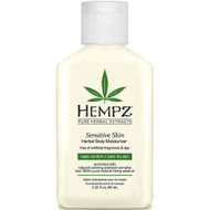 hempz sensitive skin herbal body moisturizer 2 oz