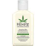 hempz sensitive skin herbal body moisturizer 2 oz
