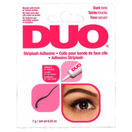 duo eyelash glue dark tone