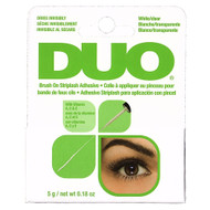 duo brush on striplash adhesive white clear