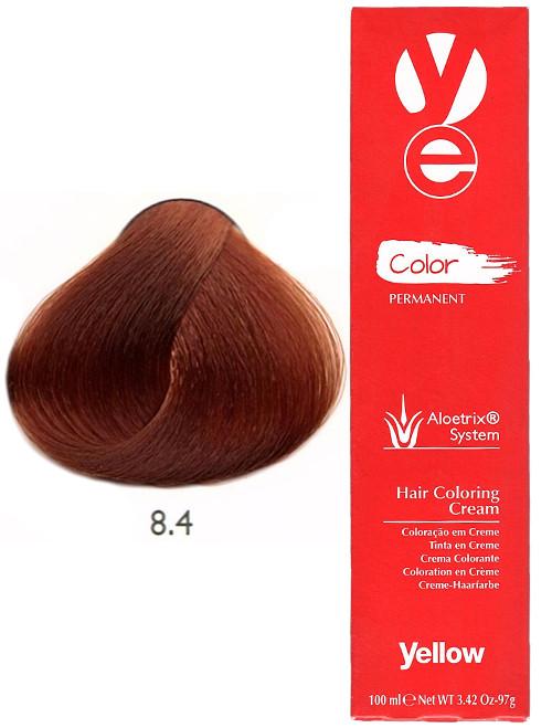 Alfaparf Yellow Hair Color Light Copper Blonde 8.4